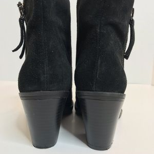 Enzo Angiolini Shoes - SOLD! Enzo Angiolini Black Suede Boots